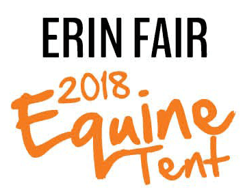 Erin Fair Equine Tent